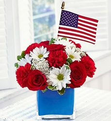 Freedom Fighters Bouquet Flower Power, Florist Davenport FL